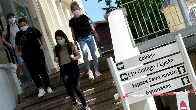 Déconfinement : réouverture des collèges et lycées le 2 juin 2020 / © Rémy Perrin / MaxPPP